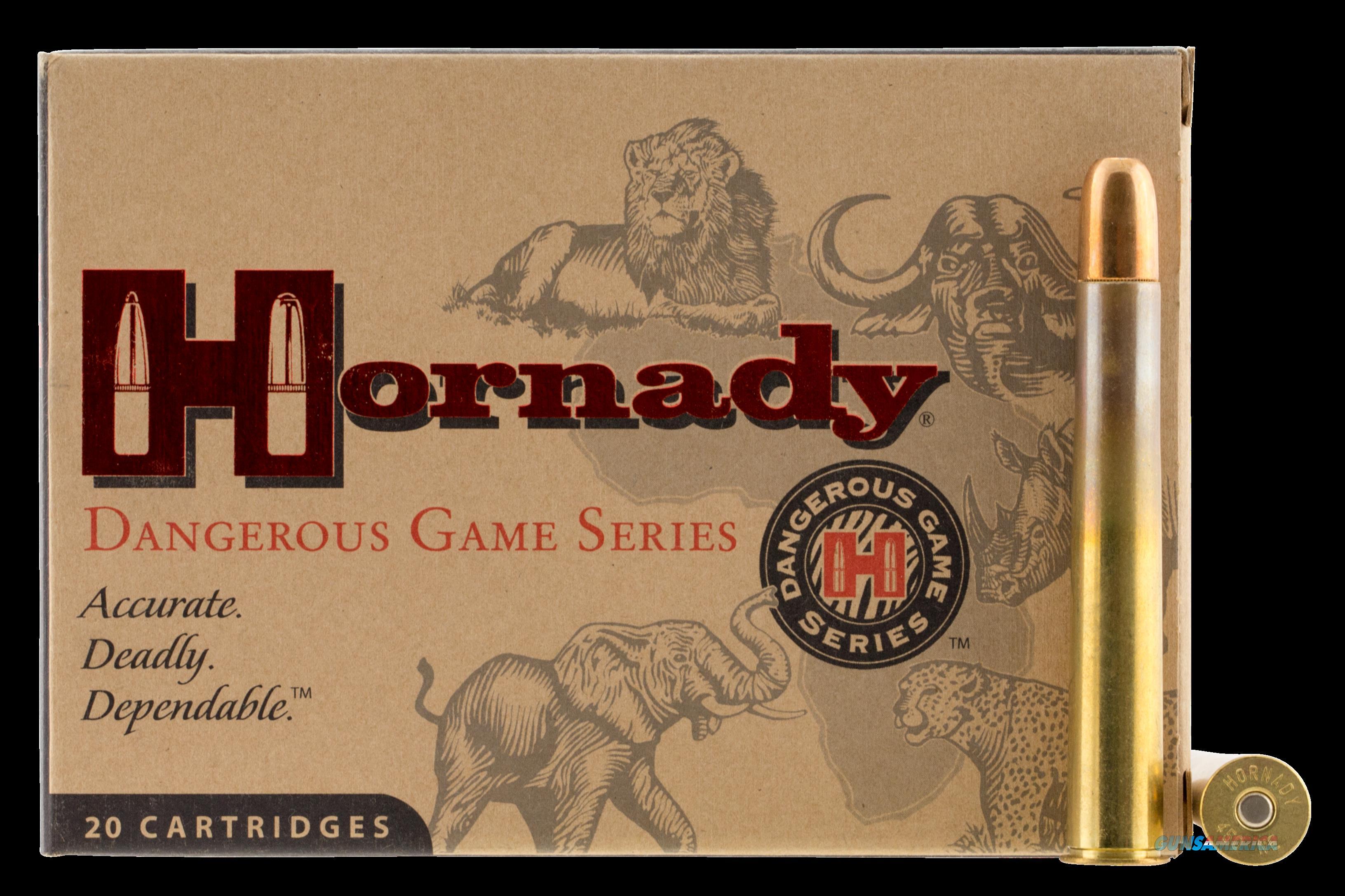 Hornady Dangerous Game, Horn 8264  470ntro 500 Dgs        20-6  Guns > Pistols > 1911 Pistol Copies (non-Colt)