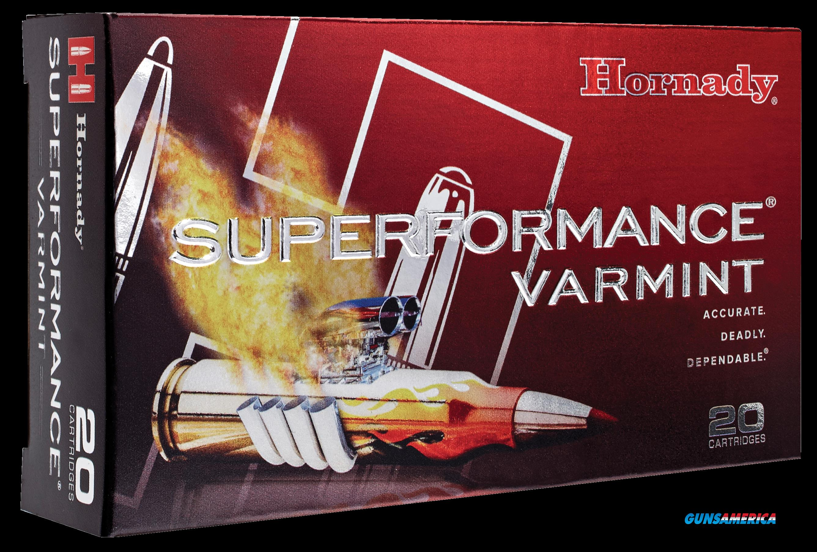 Hornady Superformance Varmint, Horn*8316  222 Rem  50 Vmax Spf  20-10  Guns > Pistols > 1911 Pistol Copies (non-Colt)
