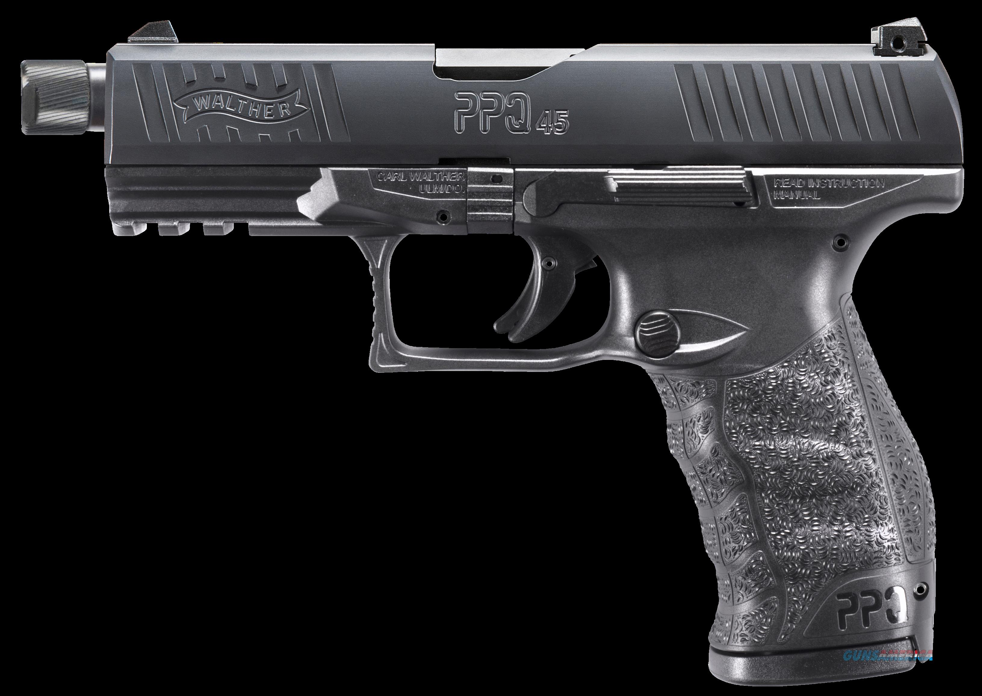 Walther Arms Ppq, Wal 2829231 Ppq M2 45acp Black 4.9in Sd 12rd  Guns > Pistols > 1911 Pistol Copies (non-Colt)