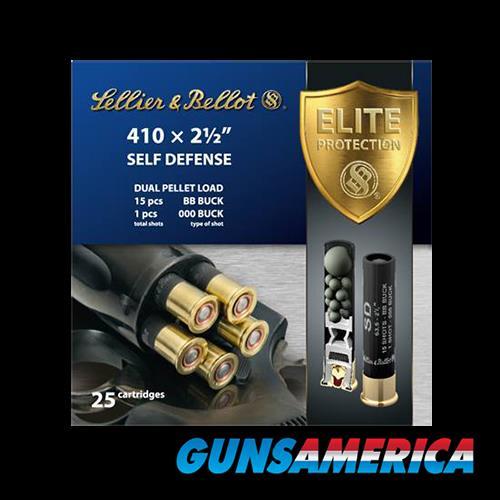 Sellier & Bellot Shotgun, S&b Sb410sda 410 2.5in 000b 15p  25-20  Guns > Pistols > 1911 Pistol Copies (non-Colt)