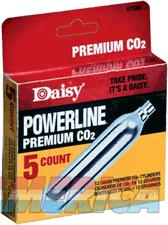 Daisy Co2 Cylinders 12-grams - 5-cyl-pack 12-packs-carton  Guns > Pistols > 1911 Pistol Copies (non-Colt)