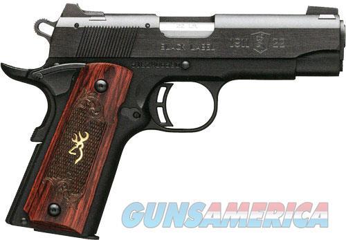 Bg 1911-22 Medallion Compact - .22lr 3.6 Fs M.black Rosewood  Guns > Pistols > 1911 Pistol Copies (non-Colt)