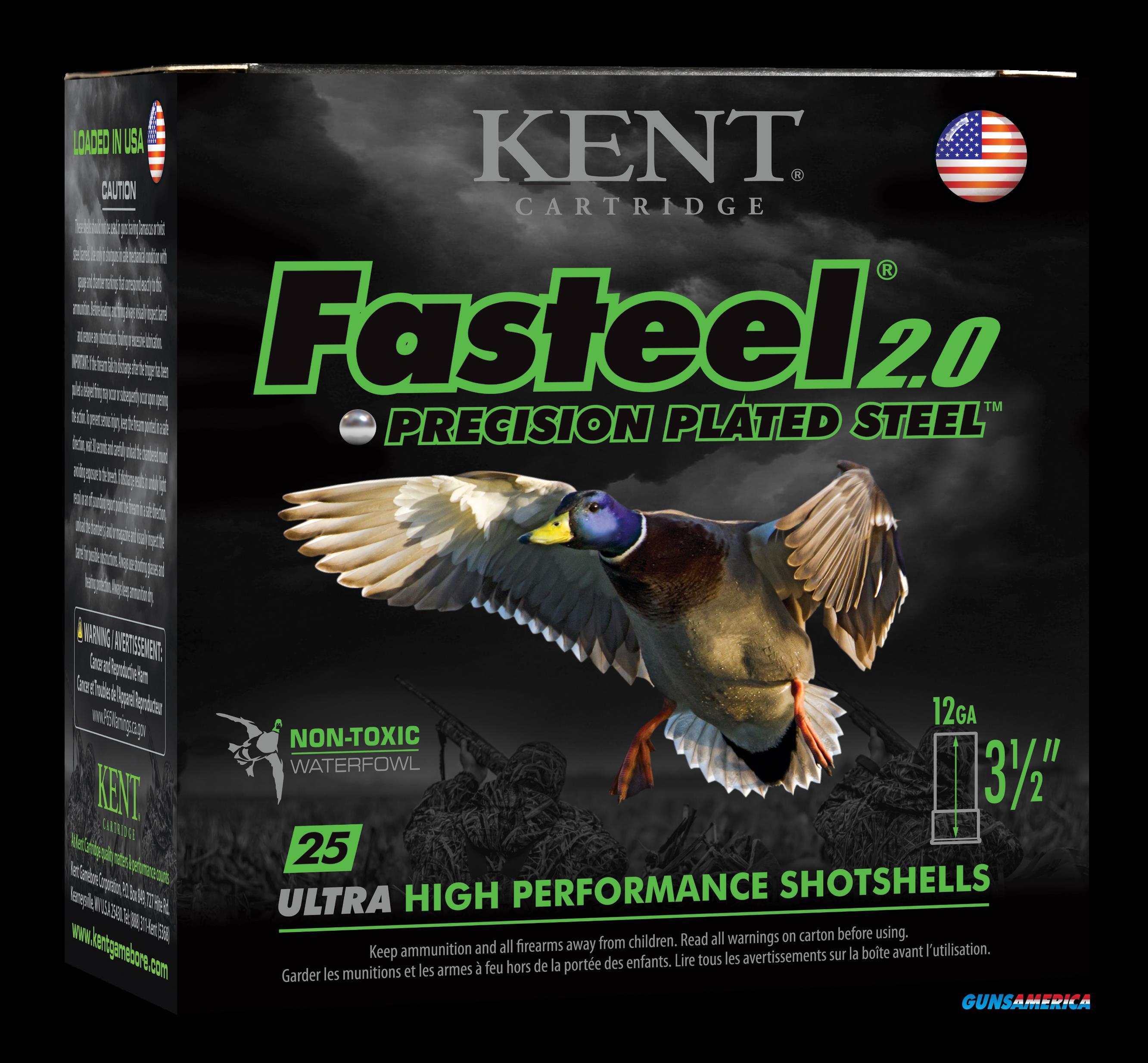 Kent Cartridge Fasteel 2.0, Kent K1235fs404   3.5 13-8   Faststl 2.0     25-10  Guns > Pistols > 1911 Pistol Copies (non-Colt)