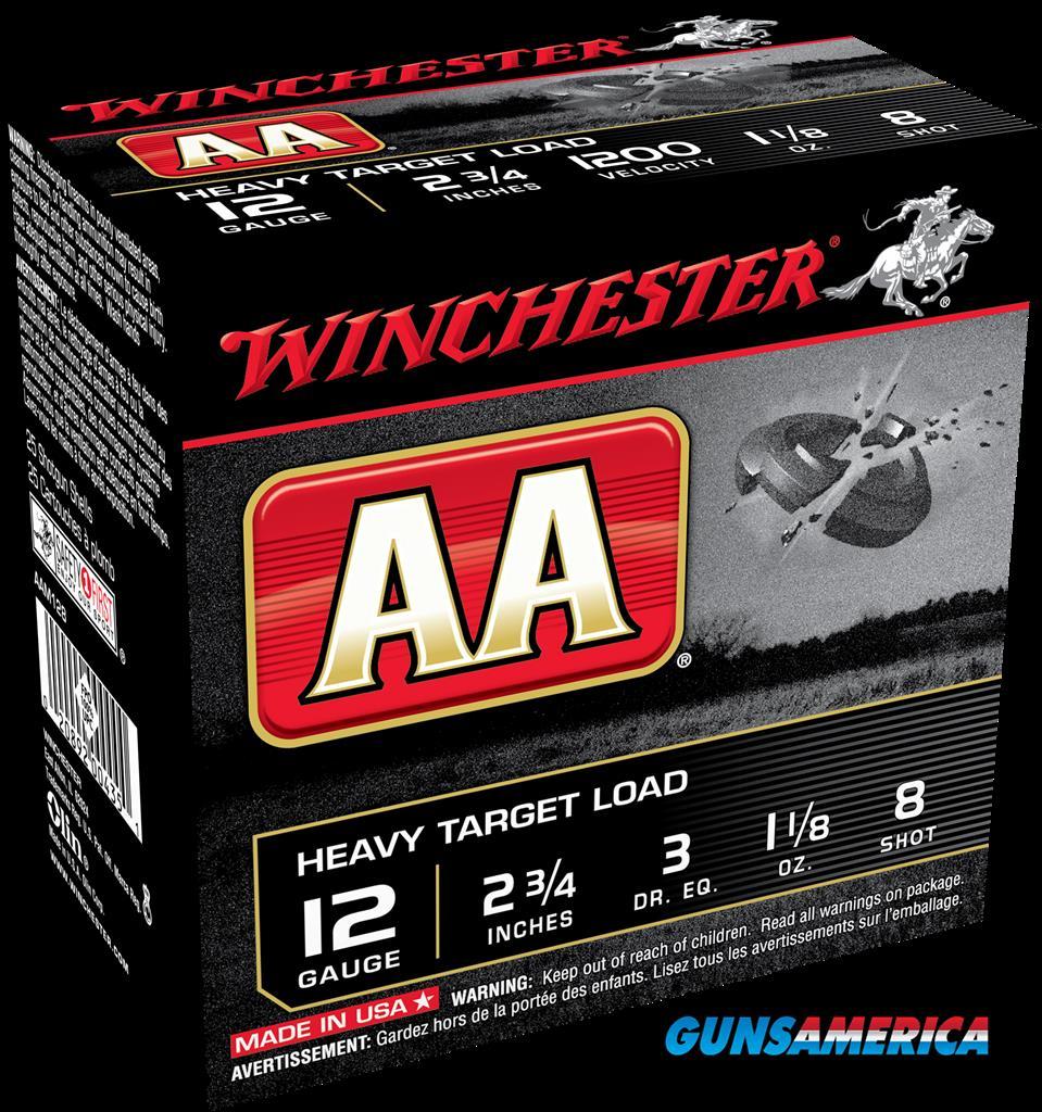 Winchester Ammo Aa, Win Aam128     Aa Heavy     11-8  25-10  Guns > Pistols > 1911 Pistol Copies (non-Colt)