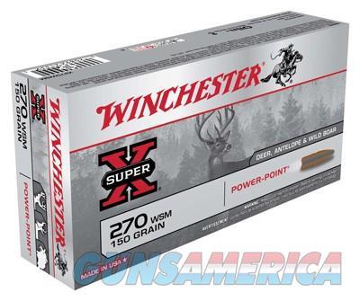 Winchester Super-x 270 Wsm 150gr Pp 20-bx  Guns > Pistols > 1911 Pistol Copies (non-Colt)