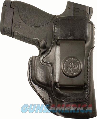 Desantis Inside Heat Holstr Rh - Iwb Leather M&p 380 Shld Ez Bl  Guns > Pistols > 1911 Pistol Copies (non-Colt)