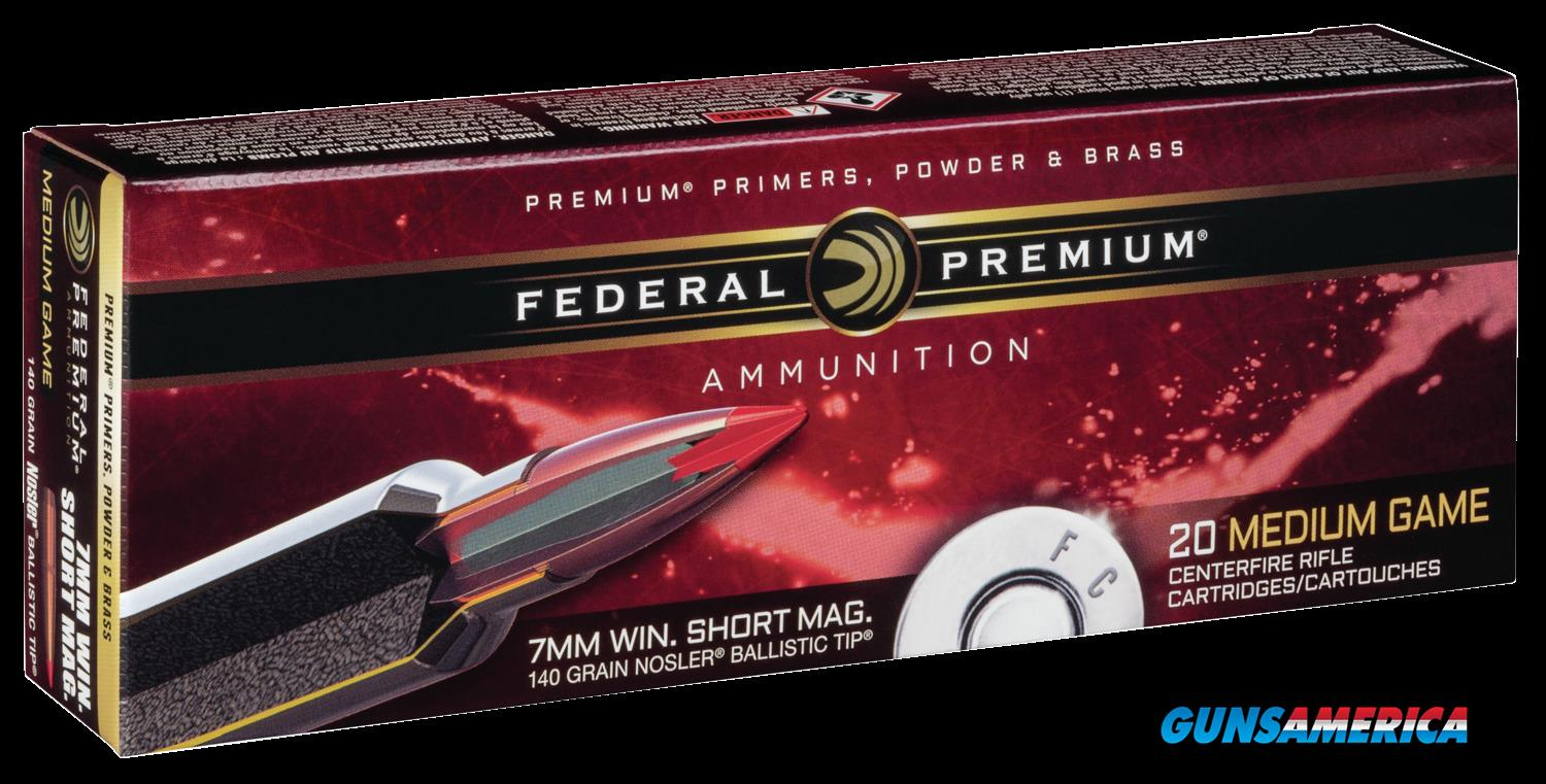 Federal Premium, Fed P7wsmb     7mmwsm  140 Nbt              20-10  Guns > Pistols > 1911 Pistol Copies (non-Colt)