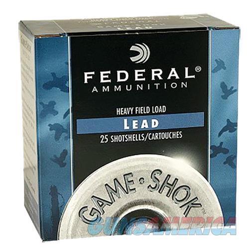 Federal Game-shok, Fed H1234     Gmshk Fld 12  11-8         25-10  Guns > Pistols > 1911 Pistol Copies (non-Colt)