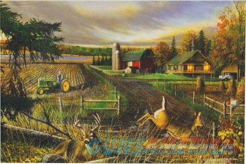 Rivers Edge Led Wrapped Canvas - Art 24x16 Dream Farm  Guns > Pistols > 1911 Pistol Copies (non-Colt)