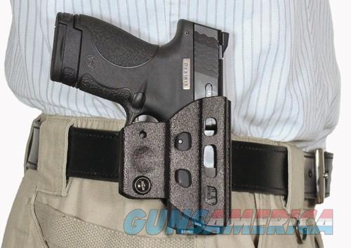 Desantis Champ Holster Owb Blk - Kydex Ambi S&w M&p Shield 9-40  Guns > Pistols > 1911 Pistol Copies (non-Colt)