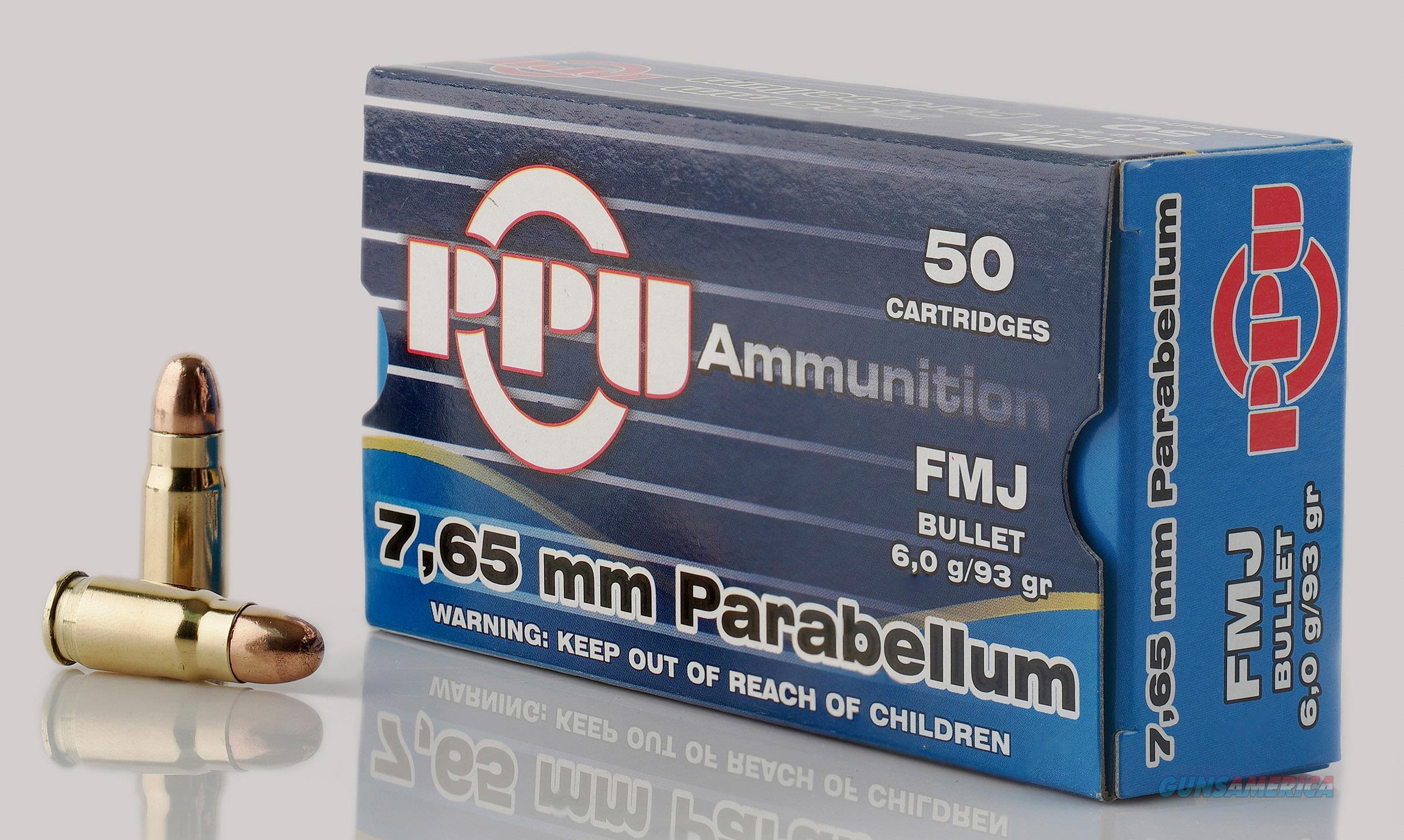 Ppu Handgun, Ppu Pph765p     7.65para     93 Fmj          50-20  Guns > Pistols > 1911 Pistol Copies (non-Colt)