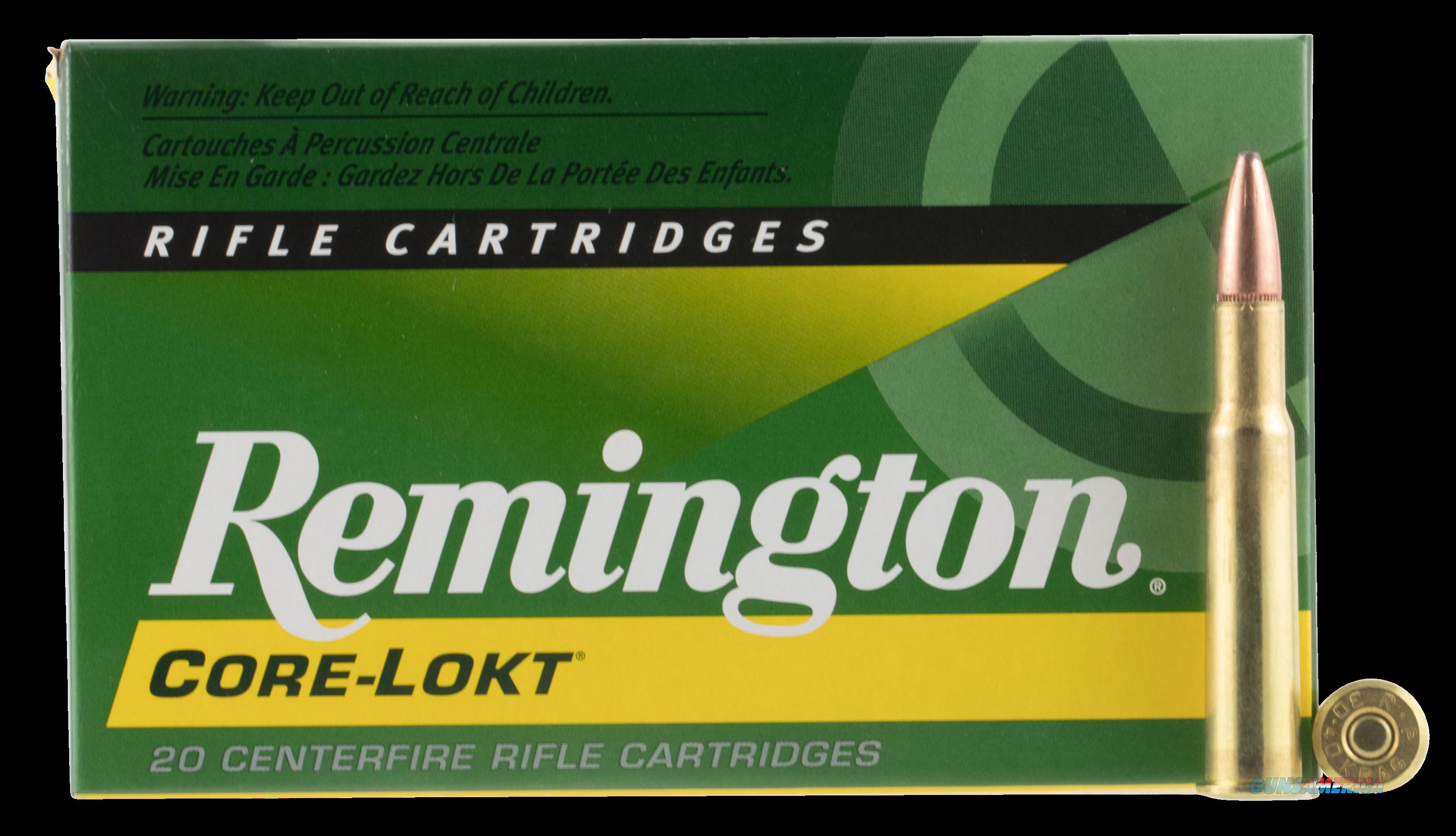 Remington Ammunition Core-lokt, Rem 28345 R30402  3040 Krg 180 Psp     20-10  Guns > Pistols > 1911 Pistol Copies (non-Colt)