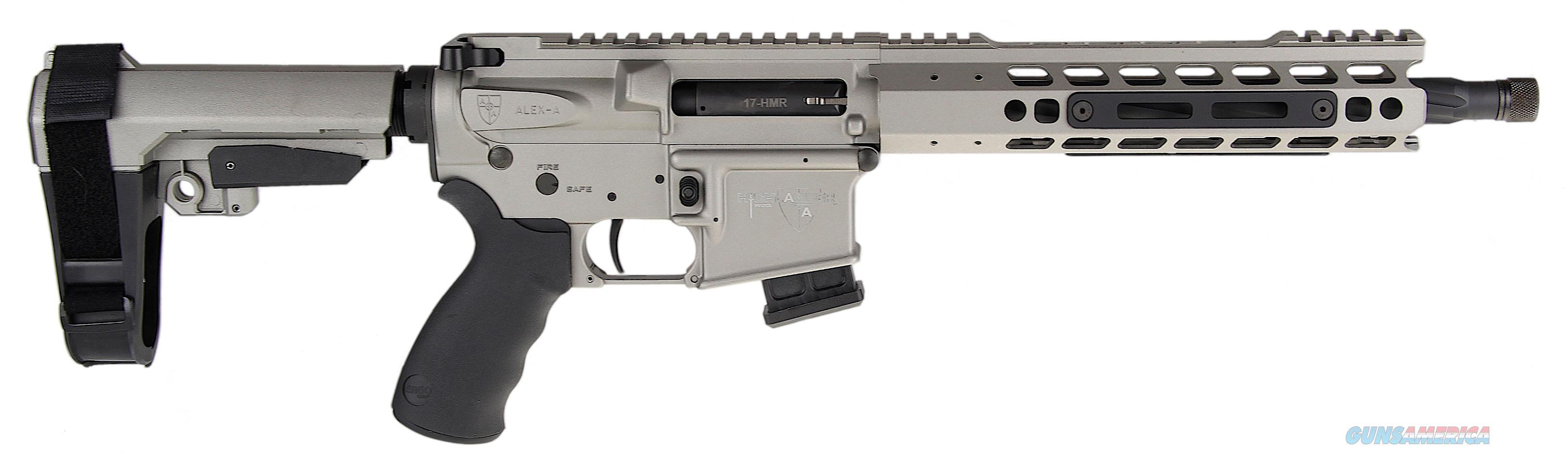 Alexander Arms Highlander, Alex Phi17sgve   Highlander Pistol 17hmr Grey  Guns > Pistols > 1911 Pistol Copies (non-Colt)