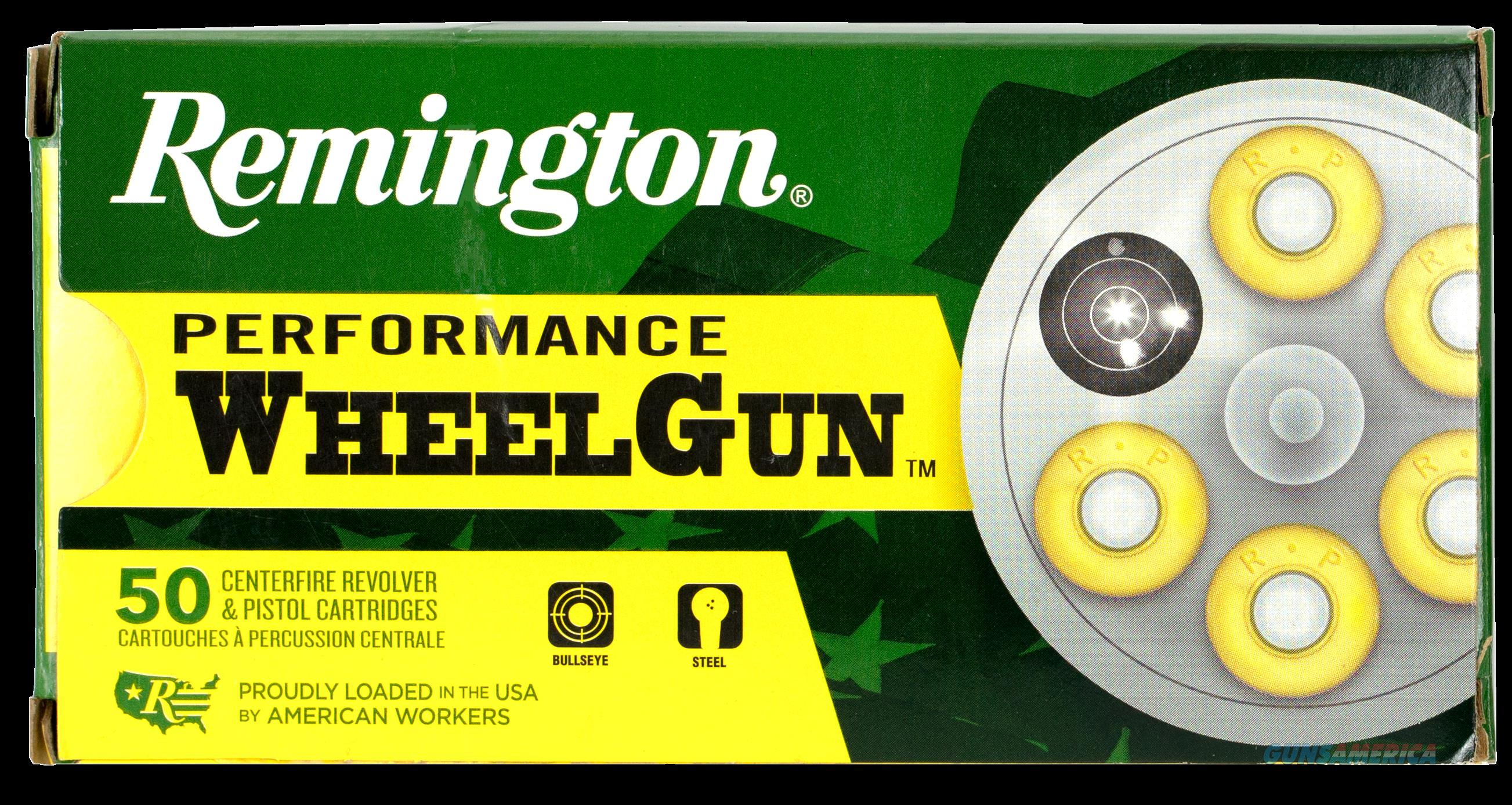 Remington Ammunition Performance Wheelgun, Rem 22281 Rpw38s5  Wheelgun 38sp 158 Lrn  50-10  Guns > Pistols > 1911 Pistol Copies (non-Colt)