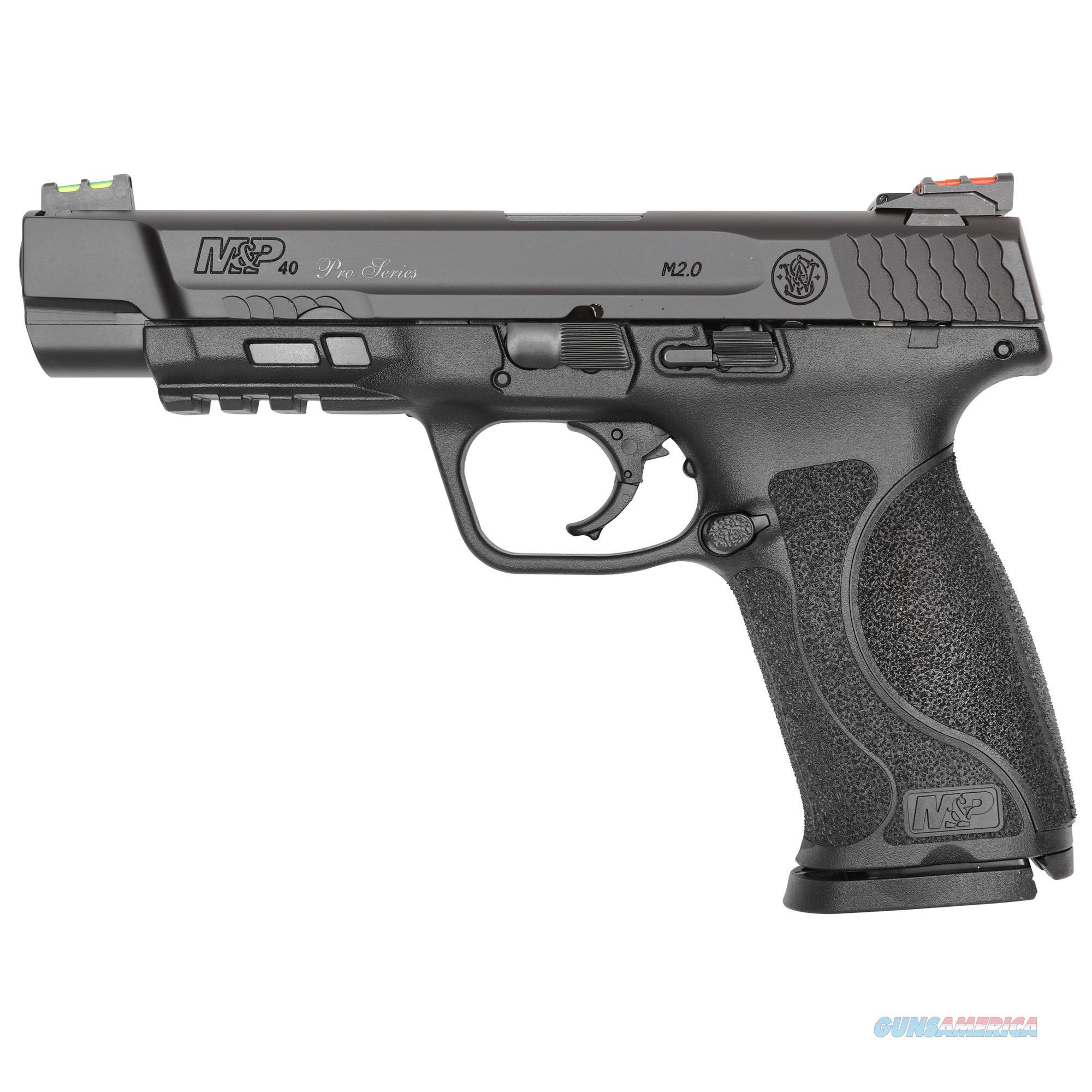 Smith & Wesson M&p 40, S&w M&p40     11821 Pcpro 40 5in  2.0 Nts Blk 15r  Guns > Pistols > 1911 Pistol Copies (non-Colt)