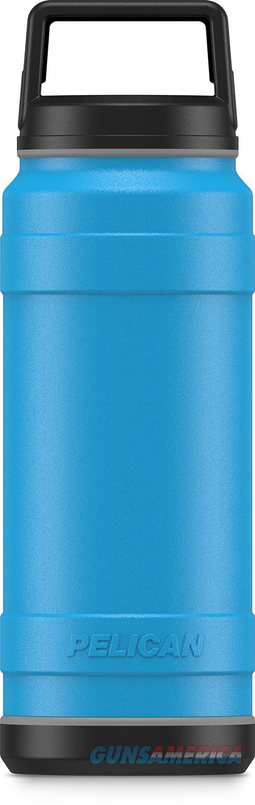 Pelican Traveler 18 Oz Bottle - Screw Top Leak Proof Ss Blue<  Guns > Pistols > 1911 Pistol Copies (non-Colt)