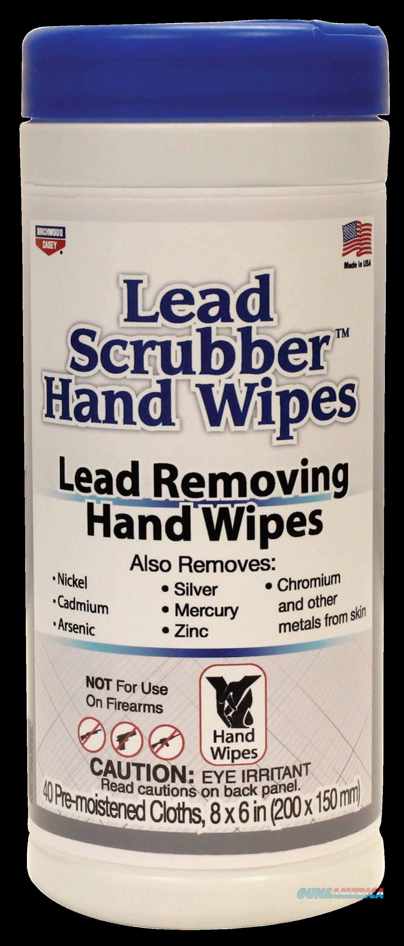 Birchwood Casey Lead Scrubber, Bir 32440 Lead Scrubber Hand Wipes    40pk  Guns > Pistols > 1911 Pistol Copies (non-Colt)