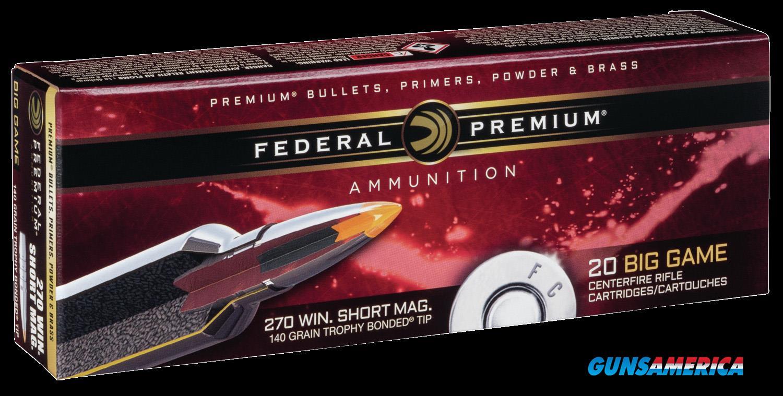 Federal Premium, Fed P270wsmtt3 270wsm  140 Tc Vtl           20-10  Guns > Pistols > 1911 Pistol Copies (non-Colt)