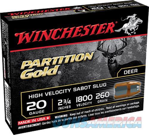 Winchester Ammo Partition Gold, Win Ssp20   Suppar Gld Sabot   Slug  5-20  Guns > Pistols > 1911 Pistol Copies (non-Colt)