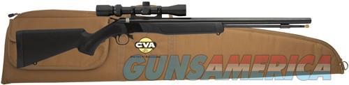 Cva Wolf Rifle Outfit .50 - Blued-black Syn. W-3-9x32  Guns > Pistols > 1911 Pistol Copies (non-Colt)