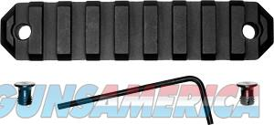 Grovtec Rail Section Keymod - 3.8 9 Slot Aluminum Black  Guns > Pistols > 1911 Pistol Copies (non-Colt)