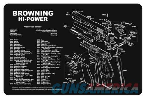 Tekmat Armorers Bench Mat - 11x17 Browning Hi-power  Guns > Pistols > 1911 Pistol Copies (non-Colt)