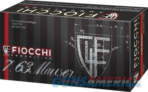 Fiocchi 7.63 Mauser 88gr. - Fmj 50-pack  Guns > Pistols > 1911 Pistol Copies (non-Colt)