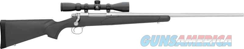 Rem 700adl Synthetic .308 Win. - Stainless-black Syn W-3-9x40mm  Guns > Pistols > 1911 Pistol Copies (non-Colt)