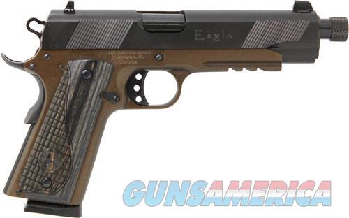 Iver Johnson 1911a1 Eagle Lr - .45acp Thd.bbl. N.sights Brnz<  Guns > Pistols > 1911 Pistol Copies (non-Colt)