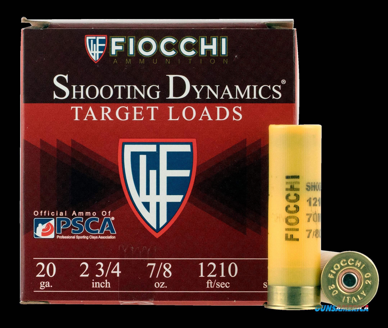 Fiocchi Shooting Dynamics, Fio 20sd9     Trgt         7-8    25-10  Guns > Pistols > 1911 Pistol Copies (non-Colt)