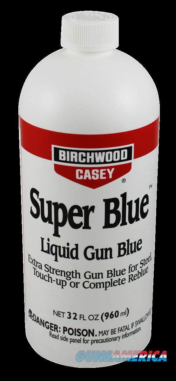 Birchwood Casey Super Blue, Bir 13432 Super Blue Liqd  Gun    32oz  Guns > Pistols > 1911 Pistol Copies (non-Colt)