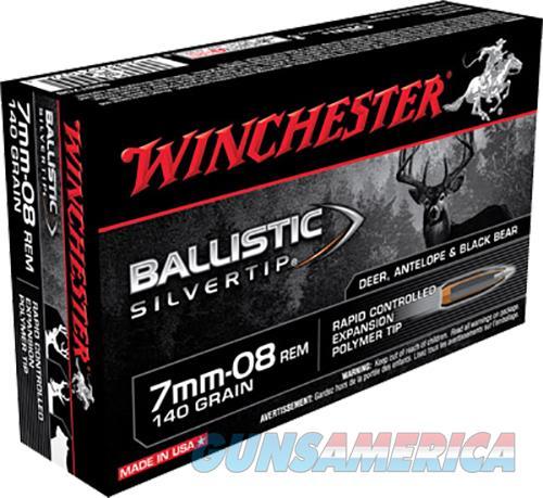 Winchester Ammo Ballistic Silvertip, Win Sbst708       7mm08  140blst 20-10  Guns > Pistols > 1911 Pistol Copies (non-Colt)