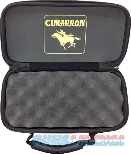 Cimmaron Revolver Case Large - 5.5 To 8 Barrel Black  Guns > Pistols > 1911 Pistol Copies (non-Colt)