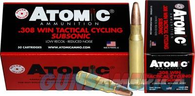 Atomic Ammo .308 Win Subsonic - 260gr. Round Nose Sp 50-pack  Guns > Pistols > 1911 Pistol Copies (non-Colt)