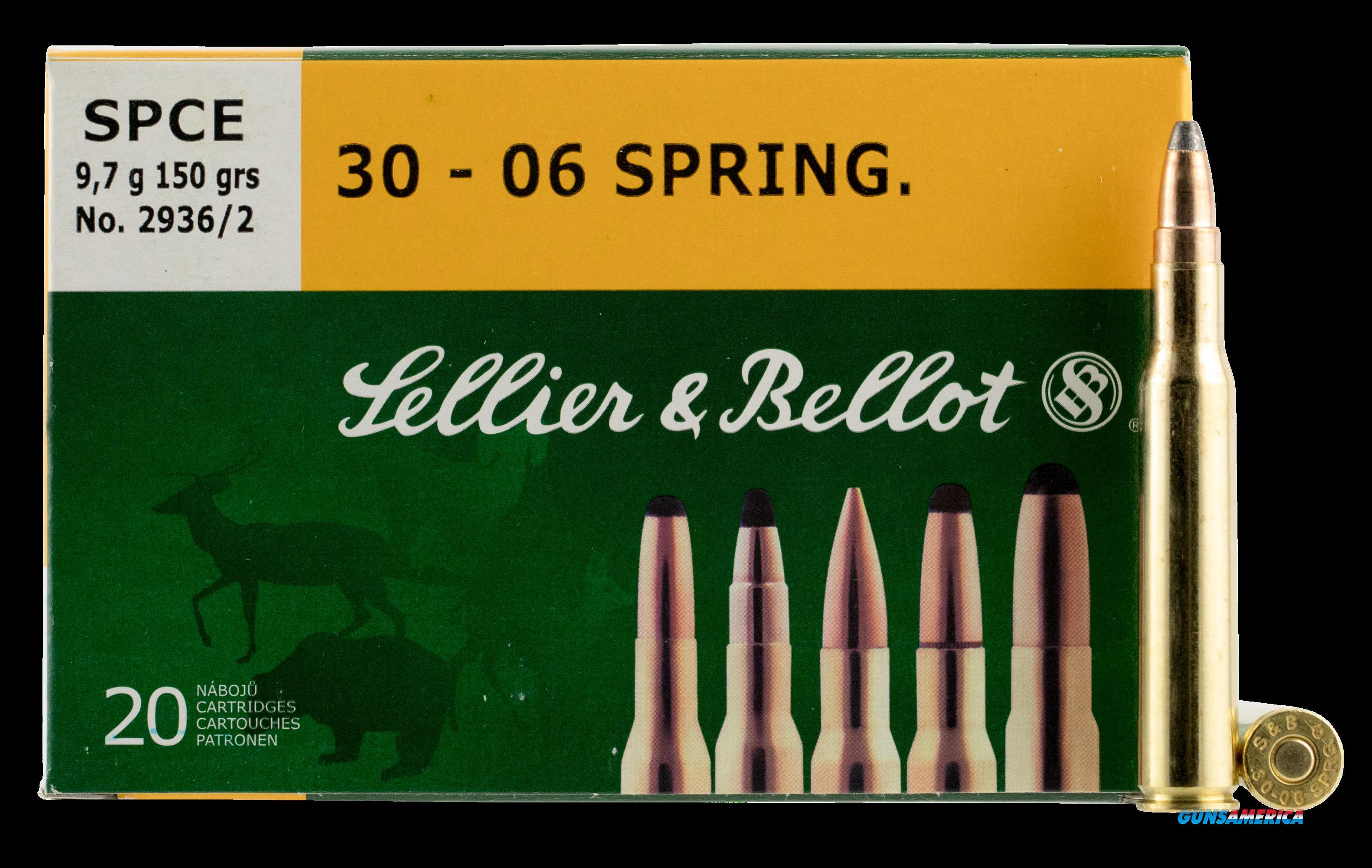 Sellier & Bellot Rifle, S&b Sb3006c  30-06      150 Spce 20-20  Guns > Pistols > 1911 Pistol Copies (non-Colt)