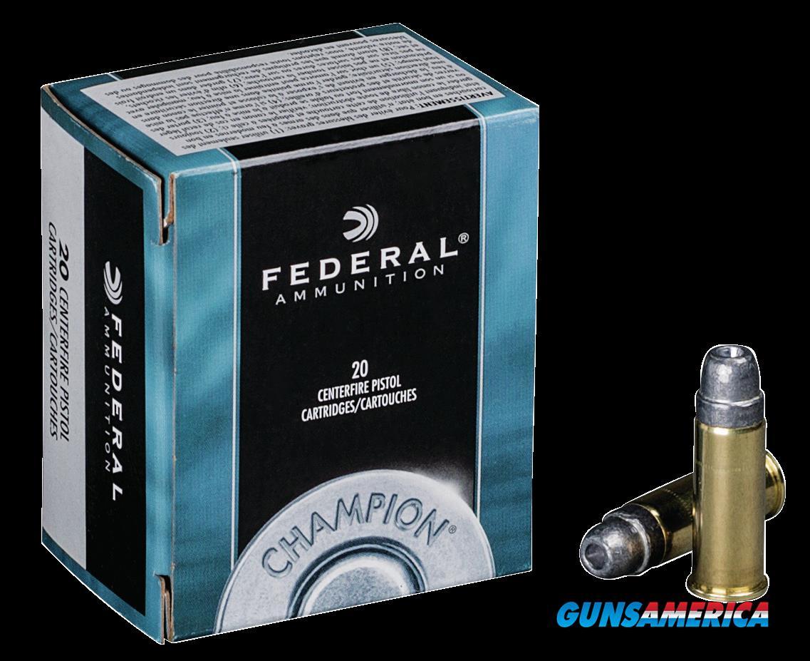 Federal Champion, Fed C44sa      44swsp    200 Swchp        20-25  Guns > Pistols > 1911 Pistol Copies (non-Colt)