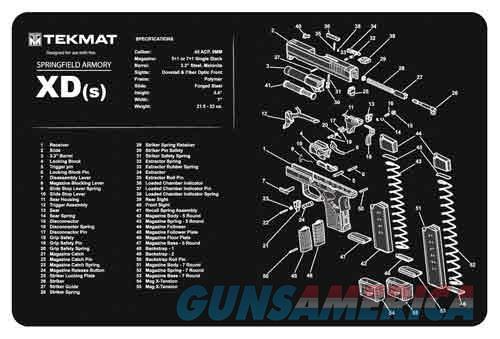 Tekmat Armorers Bench Mat - 11x17 Springfield Xds Pistol  Guns > Pistols > 1911 Pistol Copies (non-Colt)