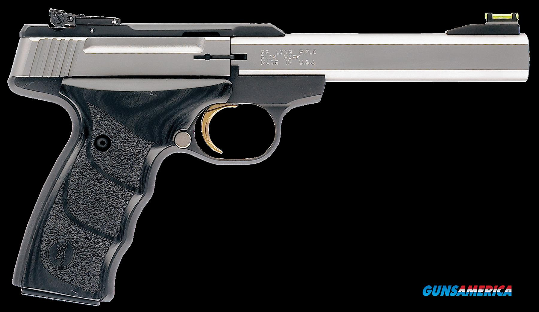 Browning Buck Mark, Brn 051-427490 Bkmk+22 Udx *ca* 5.5 Ss  Guns > Pistols > 1911 Pistol Copies (non-Colt)