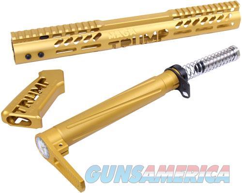 Guntec Airlite Alum Stock Set - Trump Limted Edition Gold  Guns > Pistols > 1911 Pistol Copies (non-Colt)