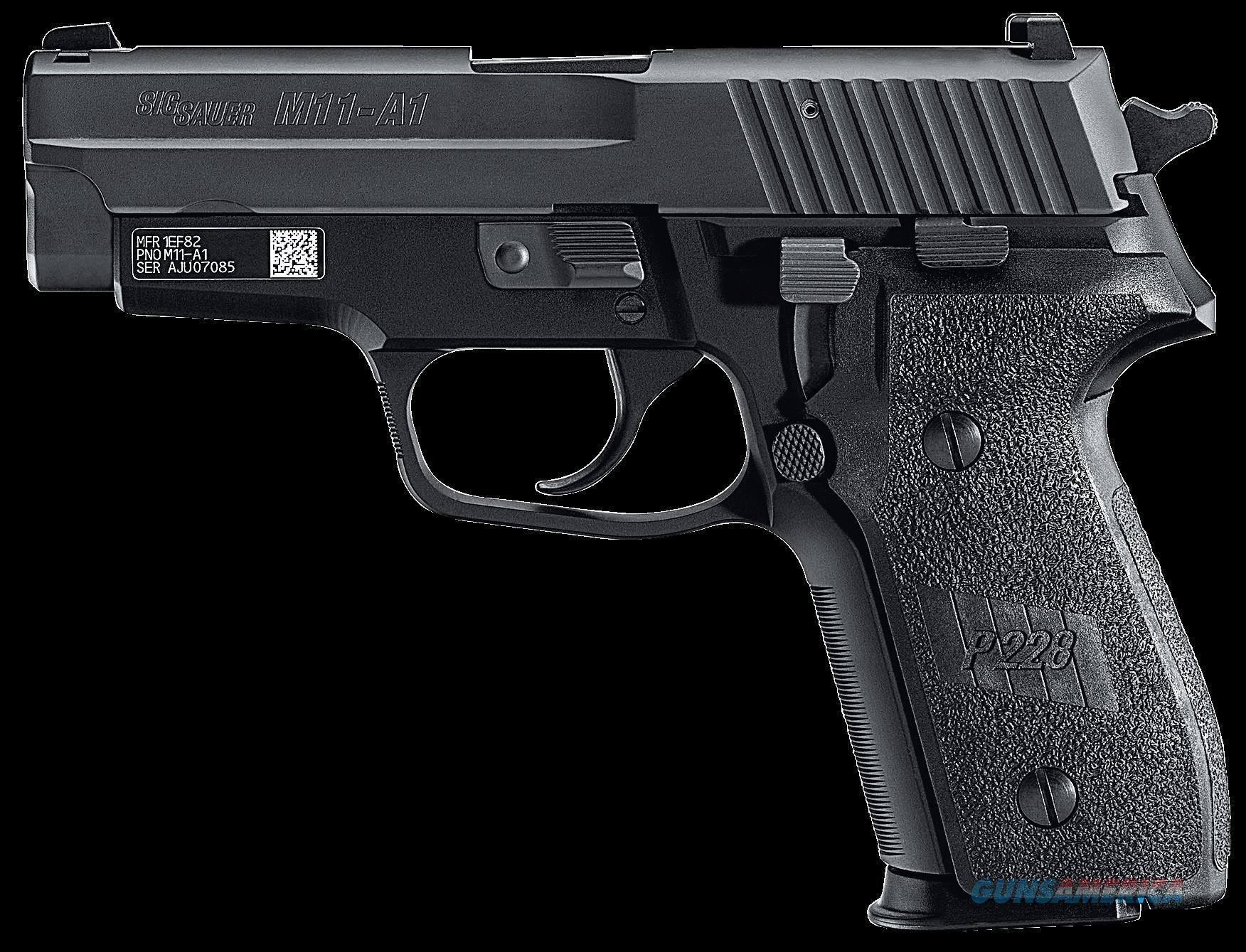Sig Sauer P229, Sig M11a110          229 9mm 3.9      *ca  Guns > Pistols > 1911 Pistol Copies (non-Colt)