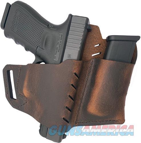 Versacarry Commander Owb W-flx - Vent & Mag Pch Rh Sz3 Dist Brn  Guns > Pistols > 1911 Pistol Copies (non-Colt)