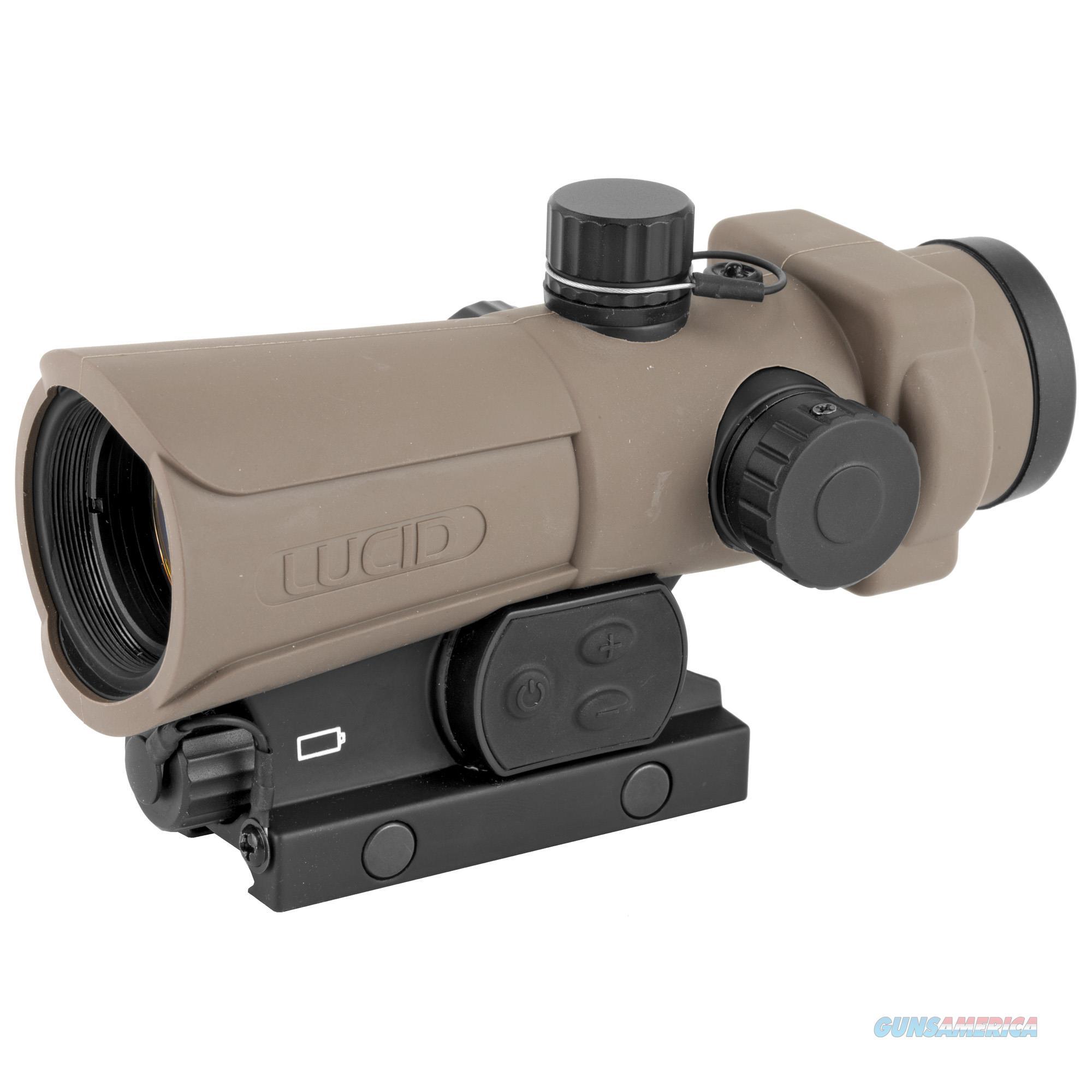 Lucid Optics Red Dot Hd7 - Gen3 34mm Tan  Guns > Pistols > 1911 Pistol Copies (non-Colt)