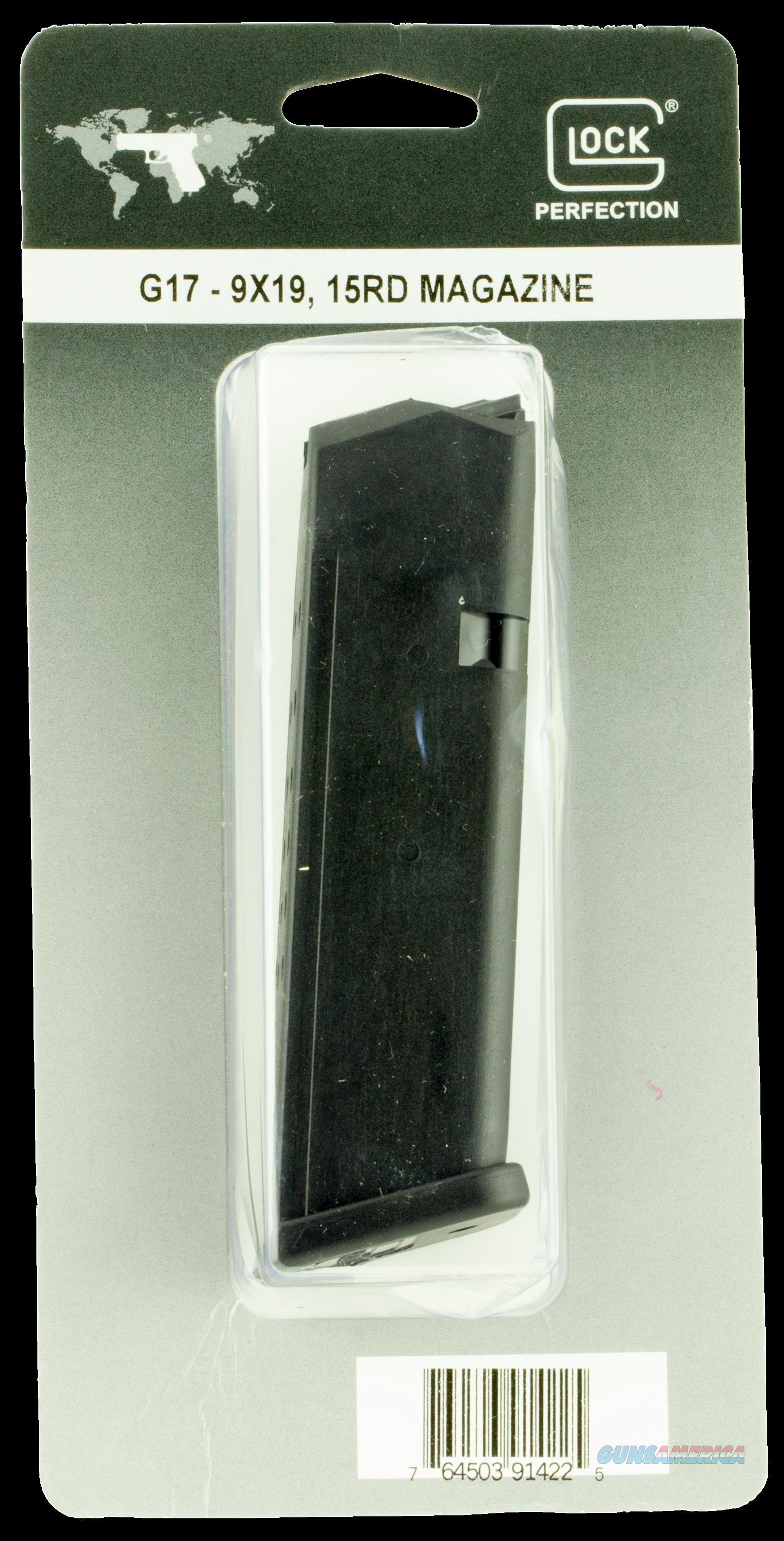 Glock G17, Glock Mf17015b Mag G17 W-blk  9mm  15r Pkg  Guns > Pistols > 1911 Pistol Copies (non-Colt)