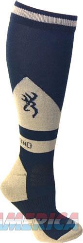 Bg Unisex Buckeye Socks M-l - Blue & Taupe Calf Height  Guns > Pistols > 1911 Pistol Copies (non-Colt)