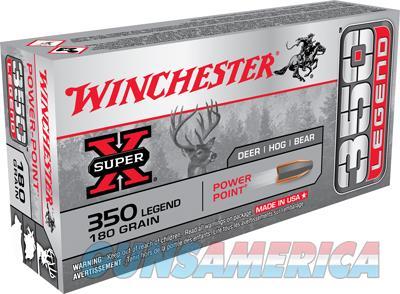 Winchester Super X 350 Legend 180gr 20bx  Guns > Pistols > 1911 Pistol Copies (non-Colt)