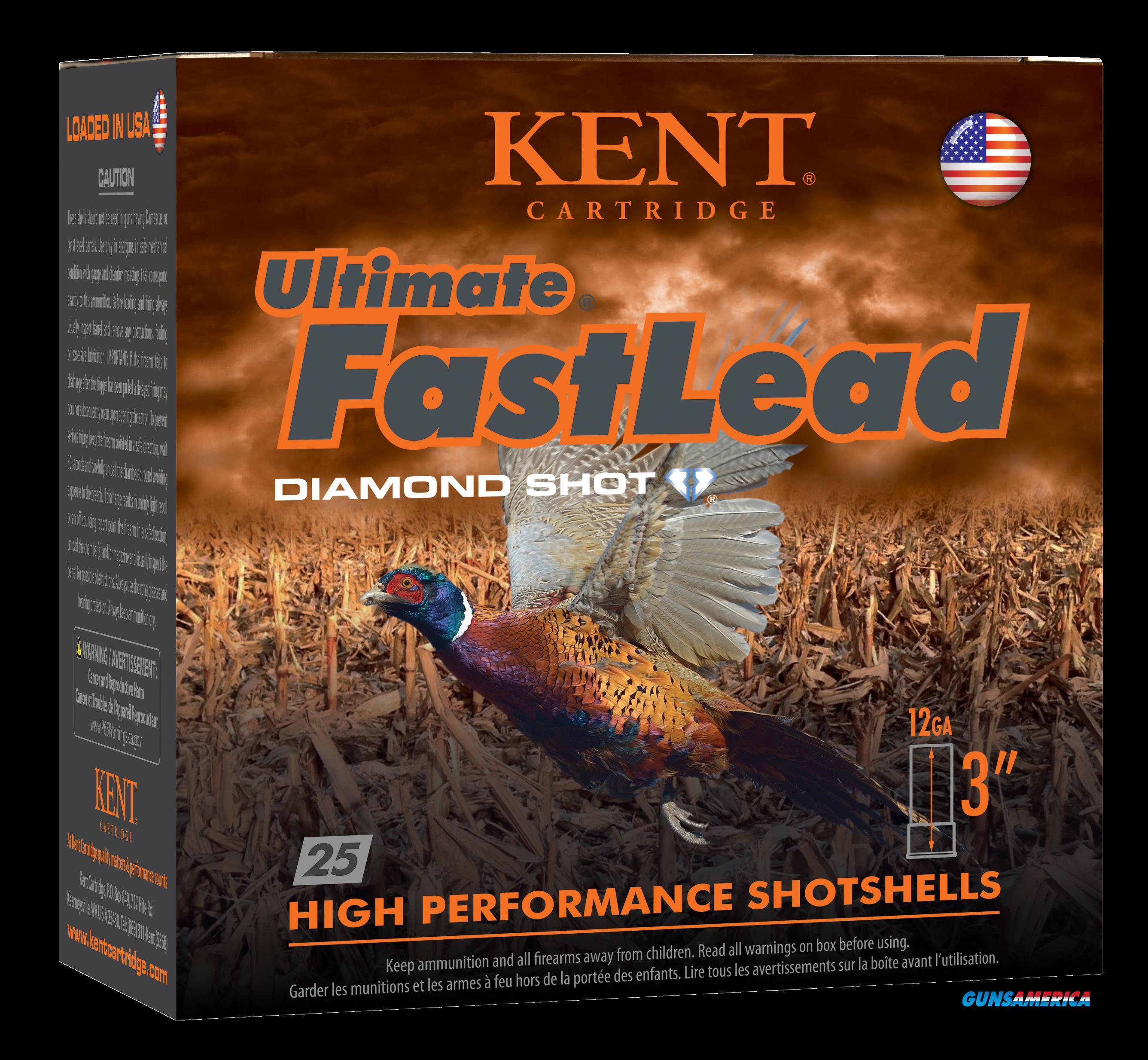 Kent Cartridge Ultimate Fast Lead, Kent K123ufl505  3in  13-4 Ultimate Fast Ld  25-10  Guns > Pistols > 1911 Pistol Copies (non-Colt)