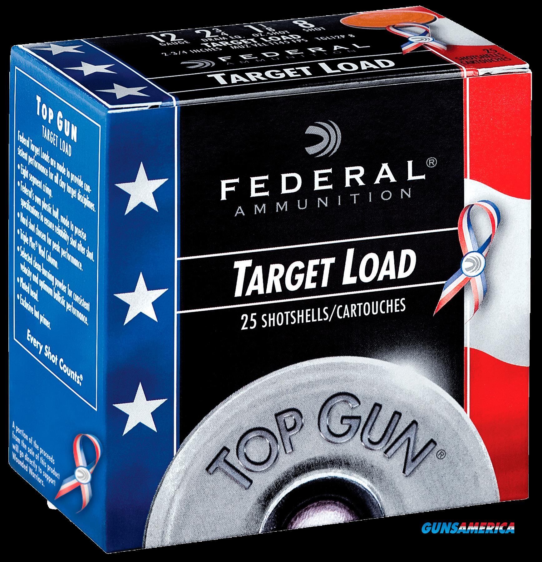 Federal Top Gun, Fed Tgl12us8 Top Gun 12    11-8 Rwb   25-10  Guns > Pistols > 1911 Pistol Copies (non-Colt)