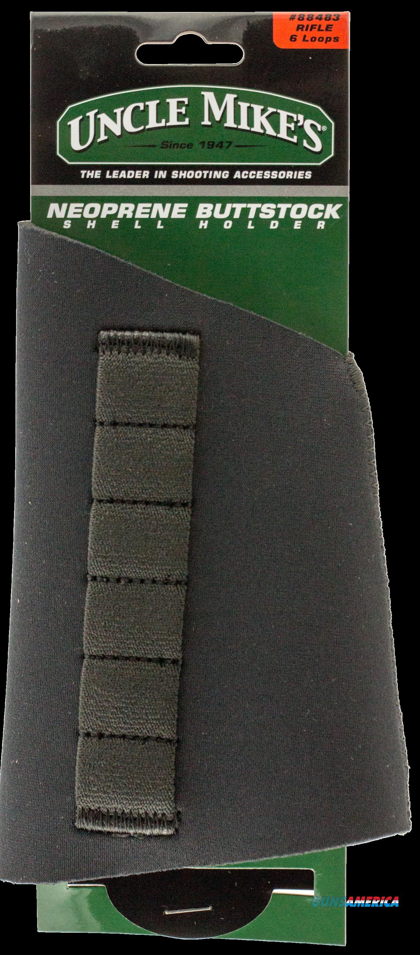 Uncle Mikes Buttstock Shell Holder, Unc 8848-3 Neoprene Rfl Butt Stk Hldr  Guns > Pistols > 1911 Pistol Copies (non-Colt)