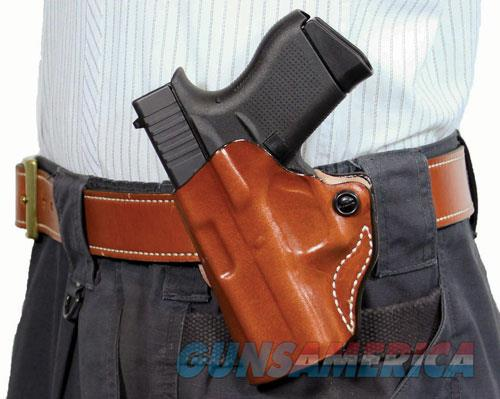 Desantis Mini Scabbard Holster - Lh Owb Leather Sig P365 Tan  Guns > Pistols > 1911 Pistol Copies (non-Colt)
