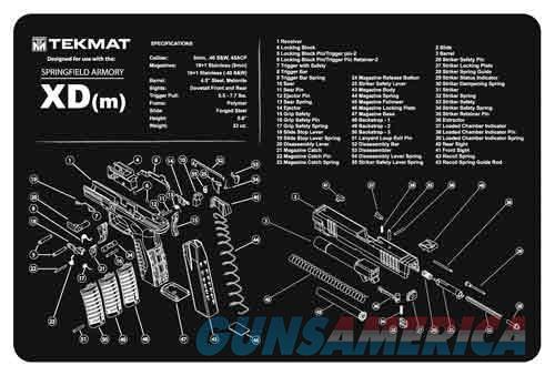Tekmat Armorers Bench Mat - 11x17 Springfield Xdm Pistol  Guns > Pistols > 1911 Pistol Copies (non-Colt)